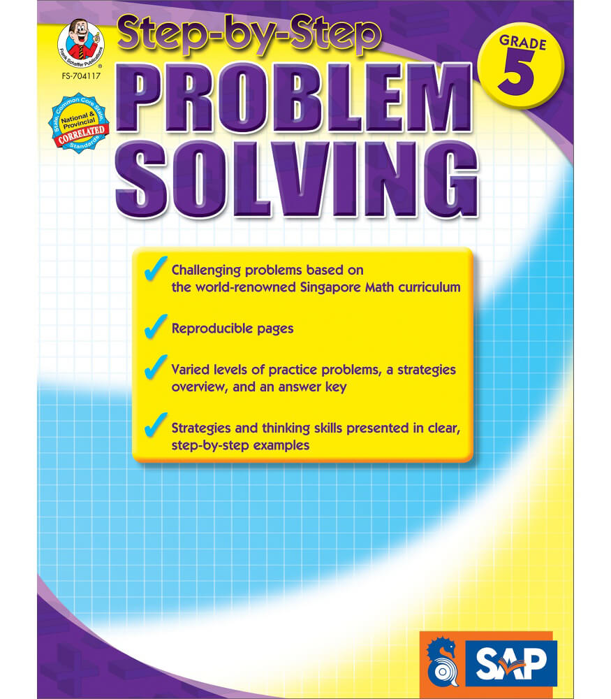 Step-by-Step Problem Solving Workbook Product Image