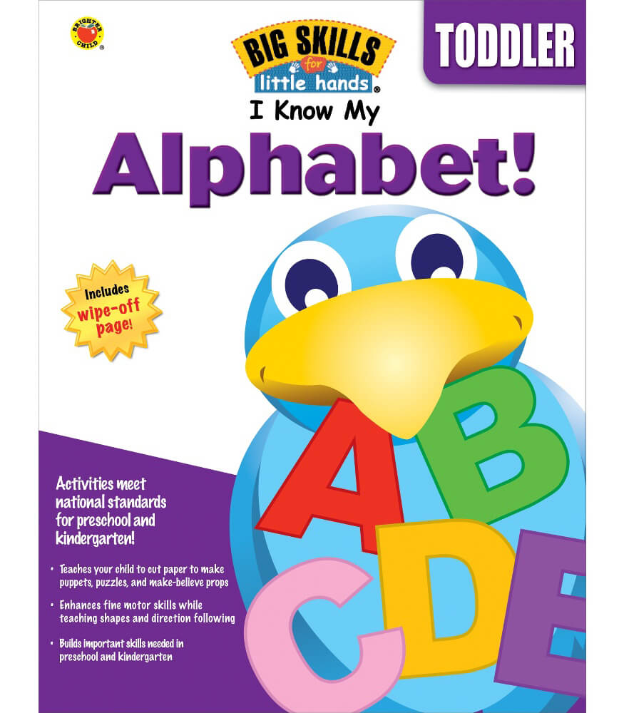 I Know My Alphabet! Workbook Product Image