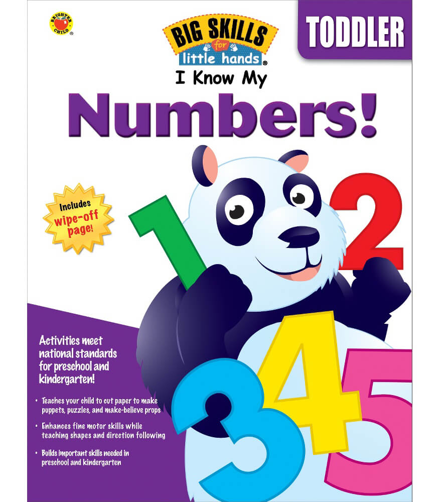 I Know My Numbers! Workbook Product Image