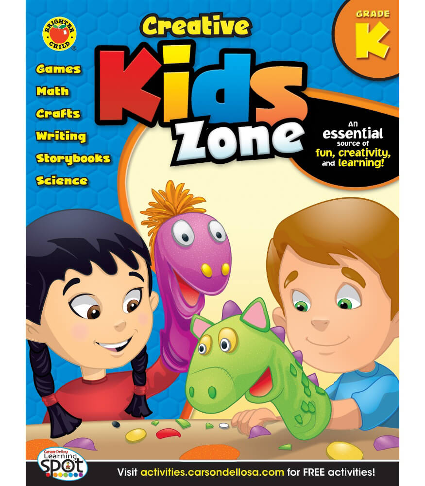 Creative Kids Zone Activity Book Product Image