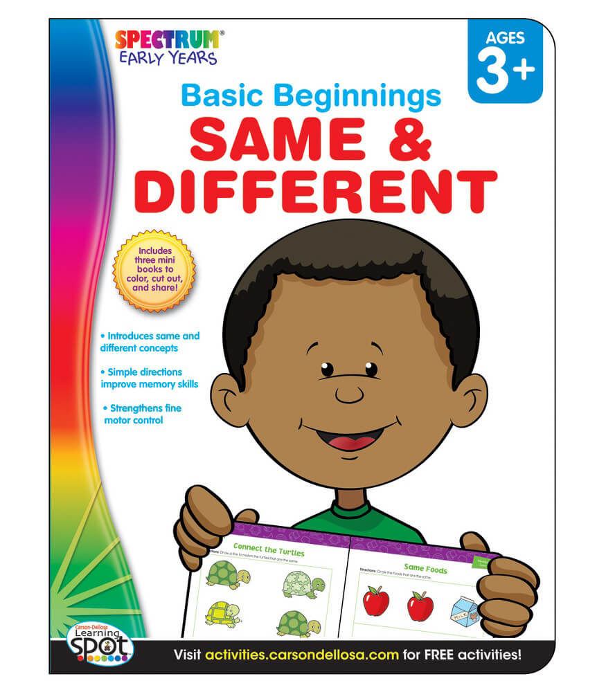 Same & Different Activity Book Product Image