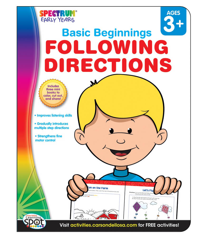 Following Directions Activity Book Product Image