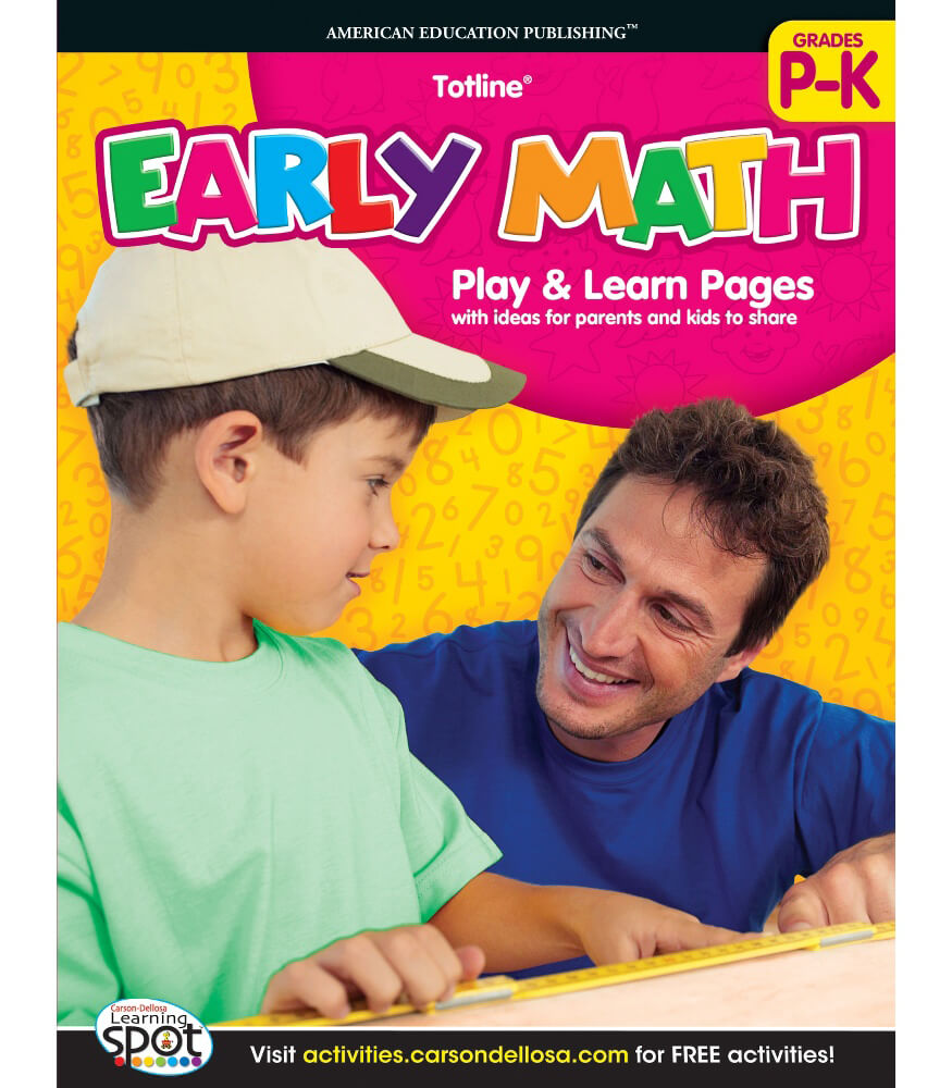 Early Math Workbook Product Image