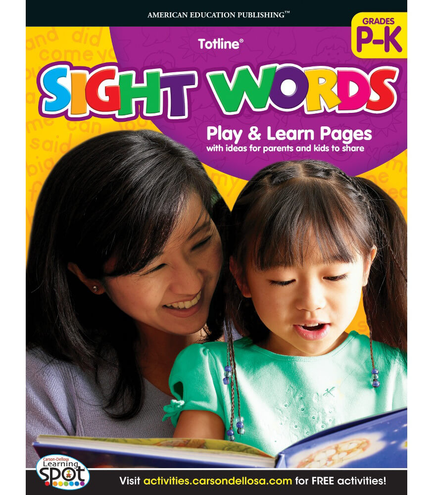 Sight Words Workbook Product Image