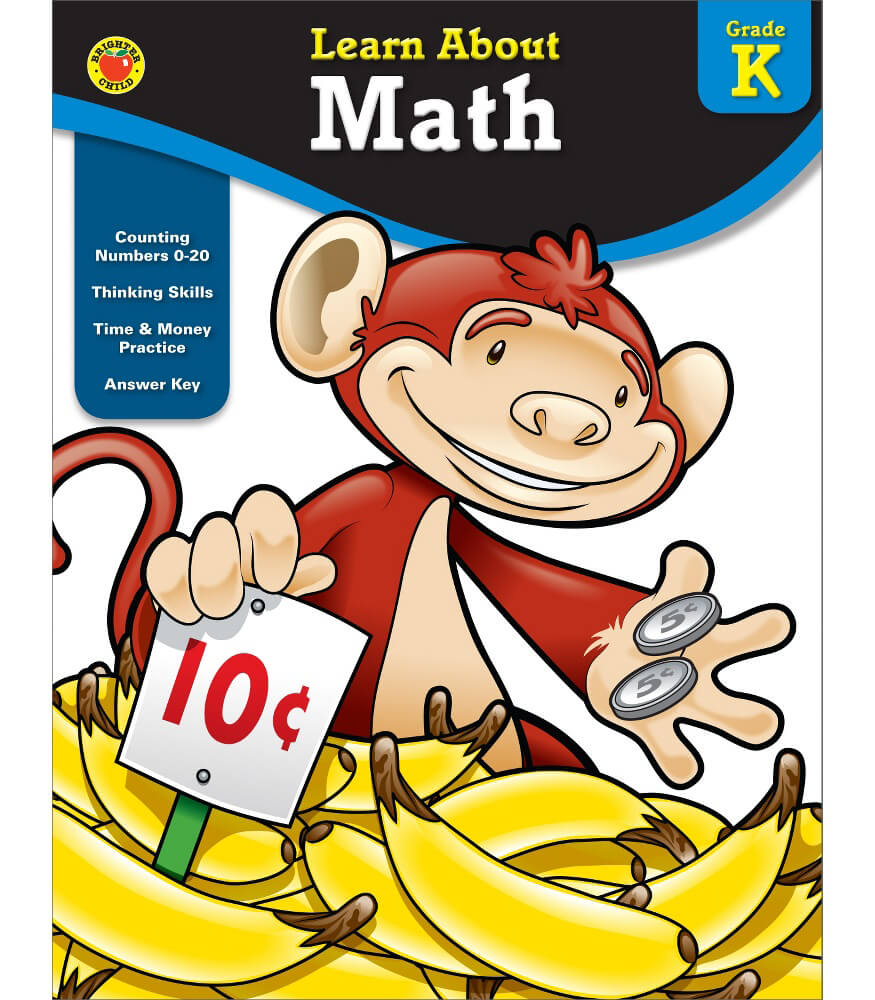 Learn About Math  Workbook Product Image