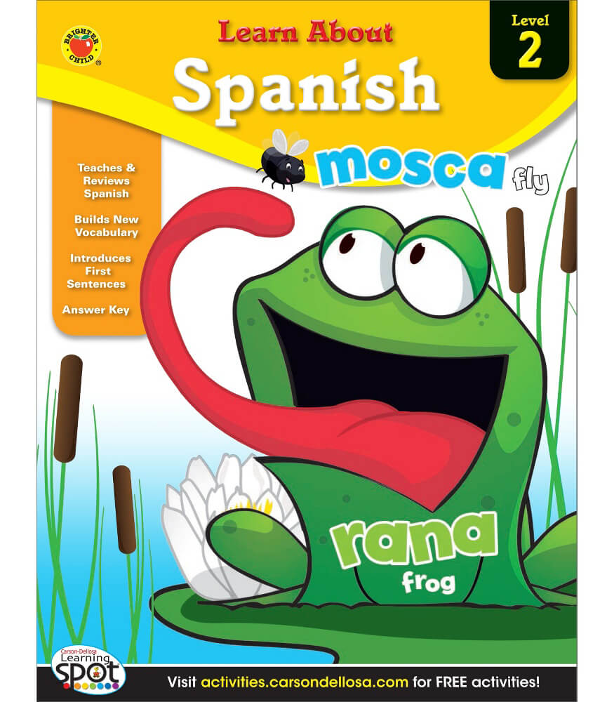 Learn About Spanish Level 2 Workbook Product Image