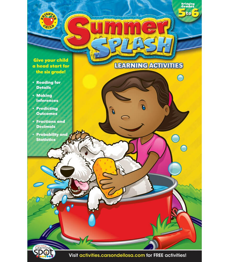 Summer Splash Learning Activities Workbook Product Image