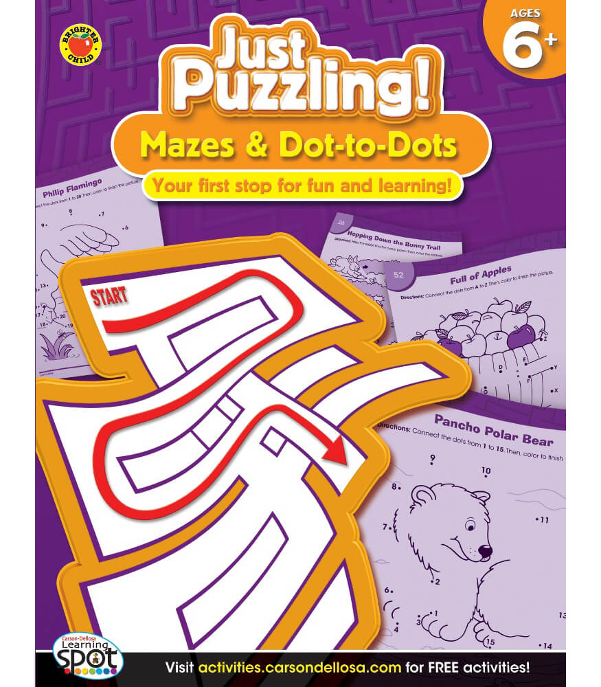 Mazes & Dot-to-Dots Activity Book Product Image