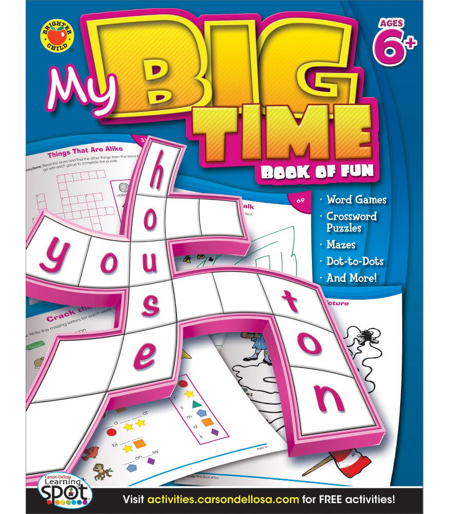 My Big Time Book of Fun Activity Book Product Image