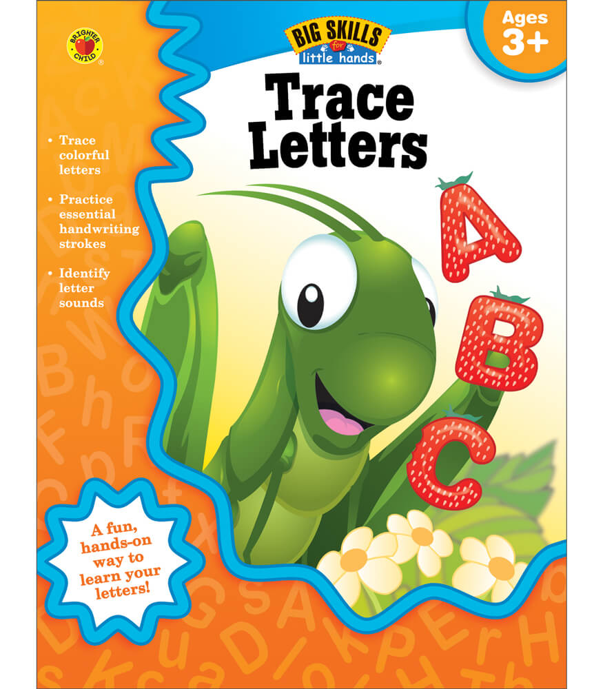 Trace Letters Workbook Product Image