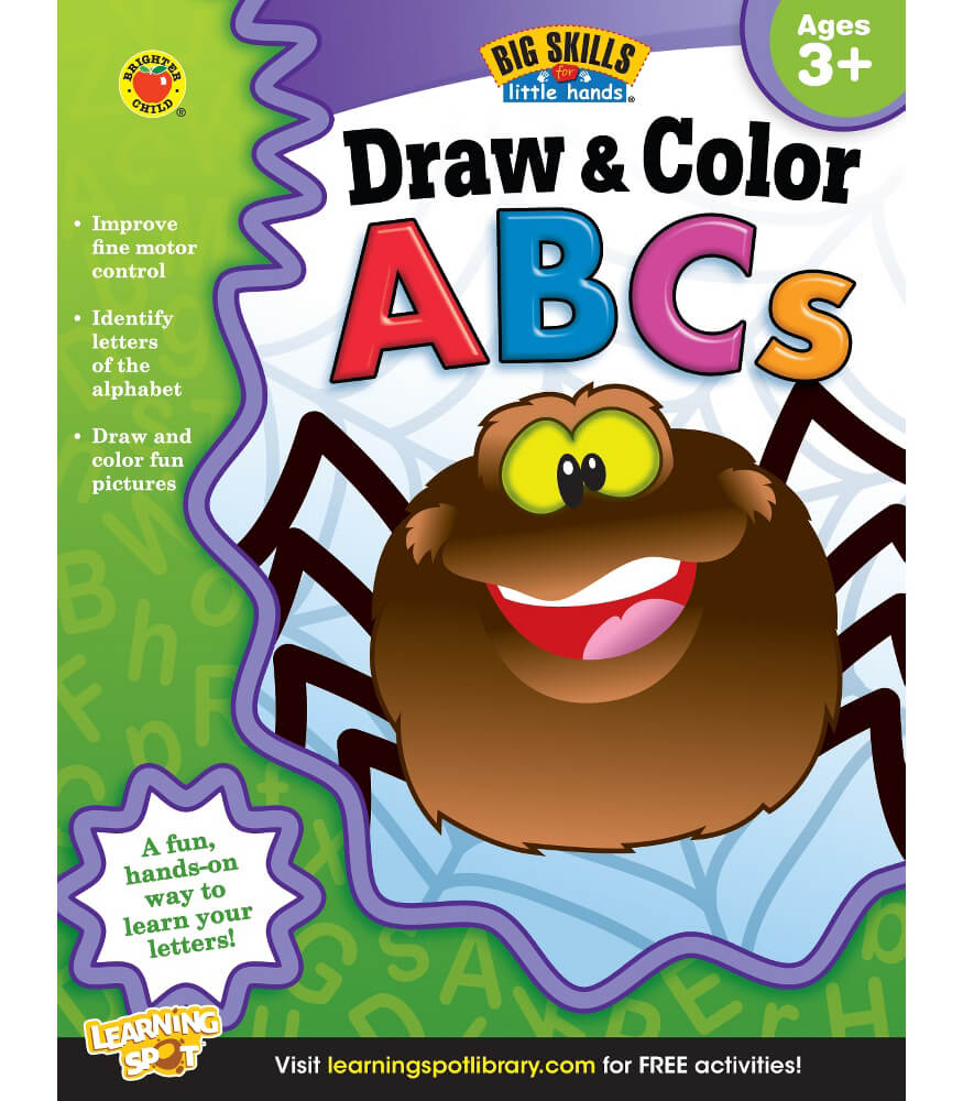 Draw & Color ABCs Workbook Product Image