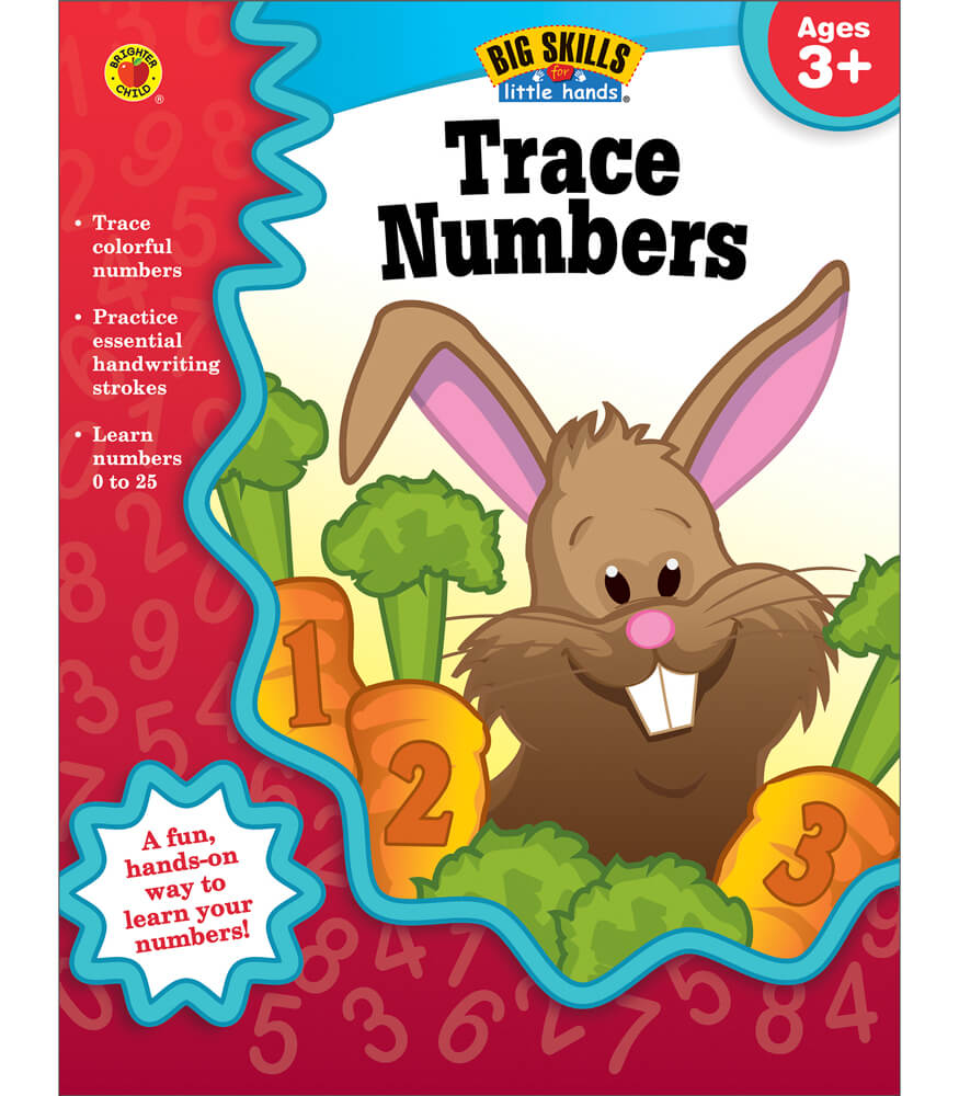 Trace Numbers Workbook Product Image