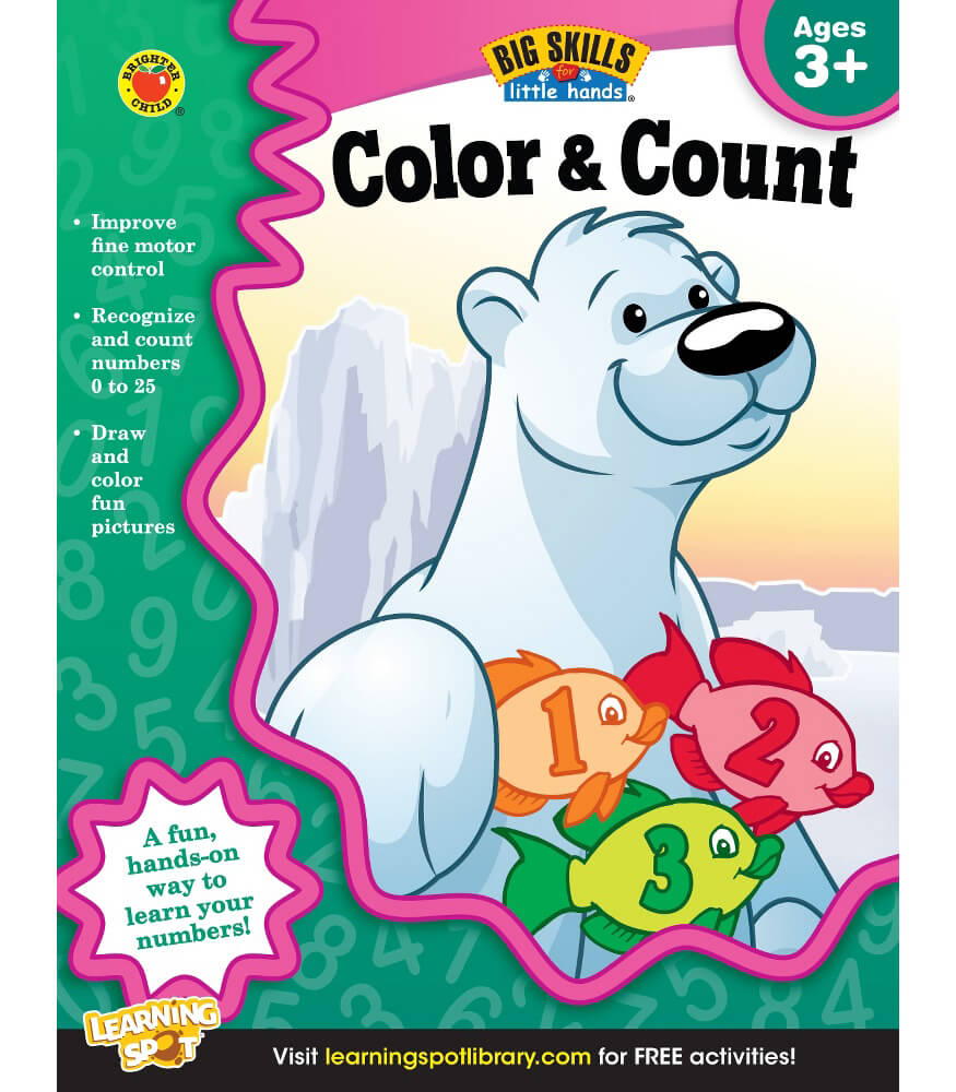 Color & Count Workbook Product Image