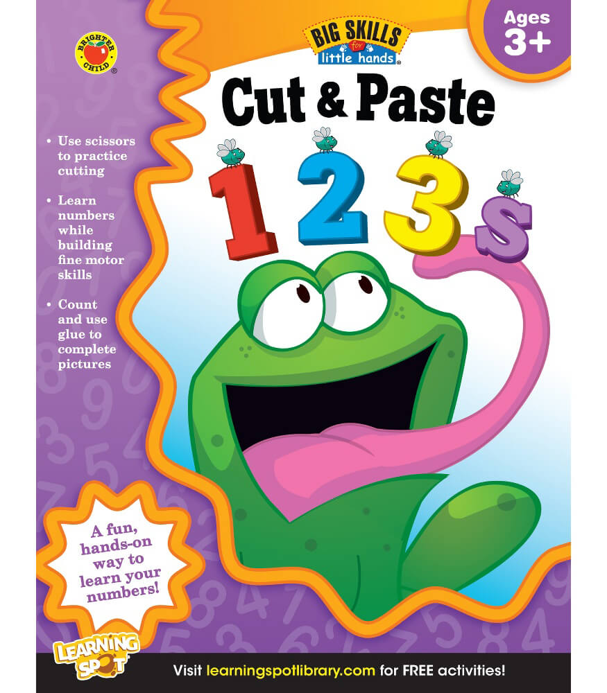 Cut & Paste 123s Workbook Product Image