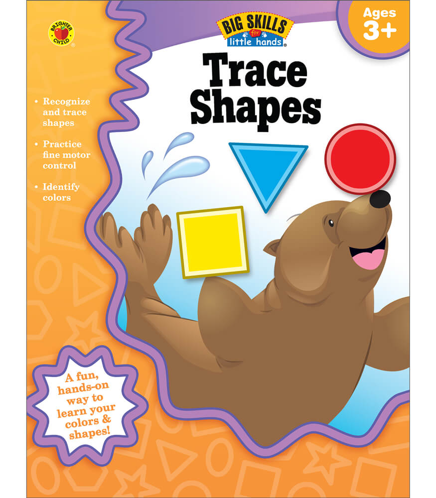 Trace Shapes Workbook Product Image