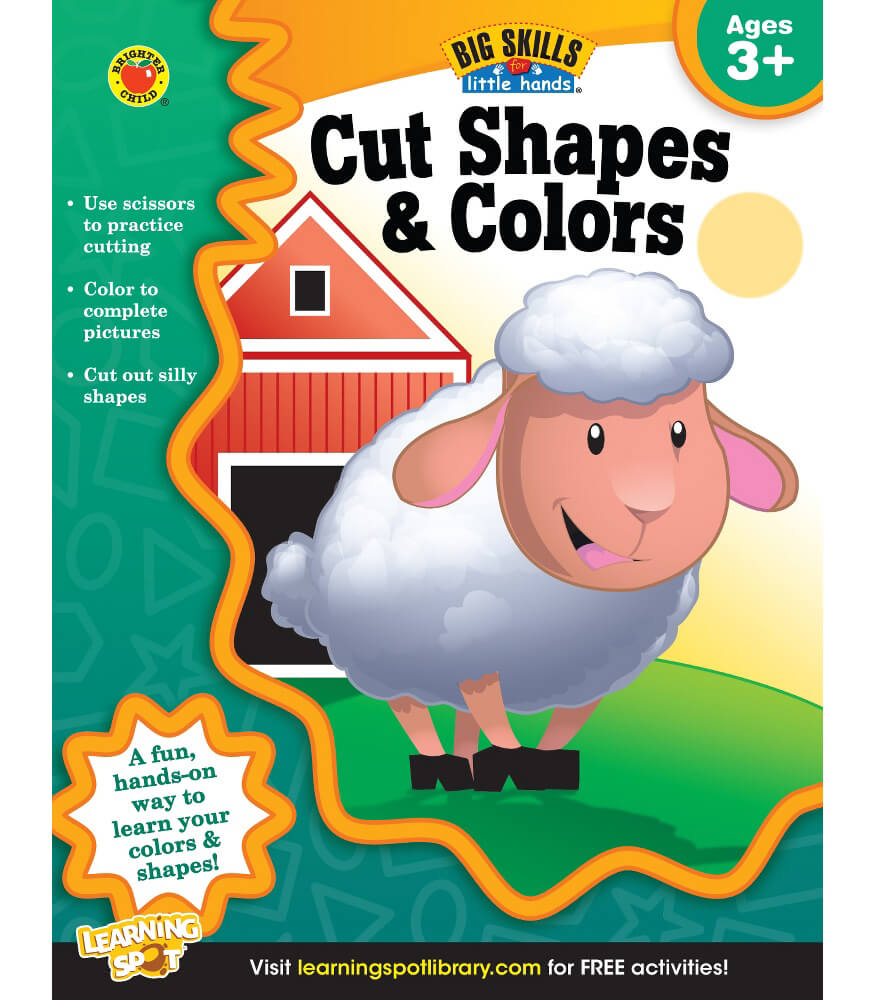 Cut Shapes & Colors Workbook Product Image