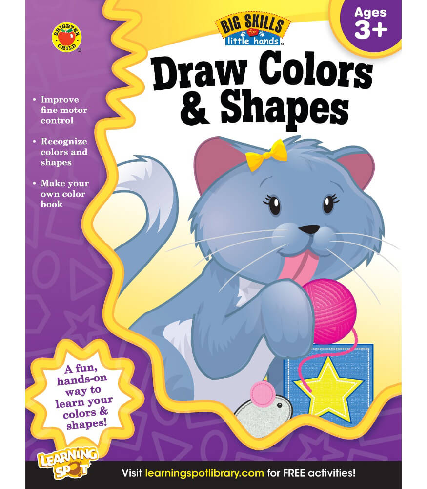 Draw Colors & Shapes Workbook Product Image