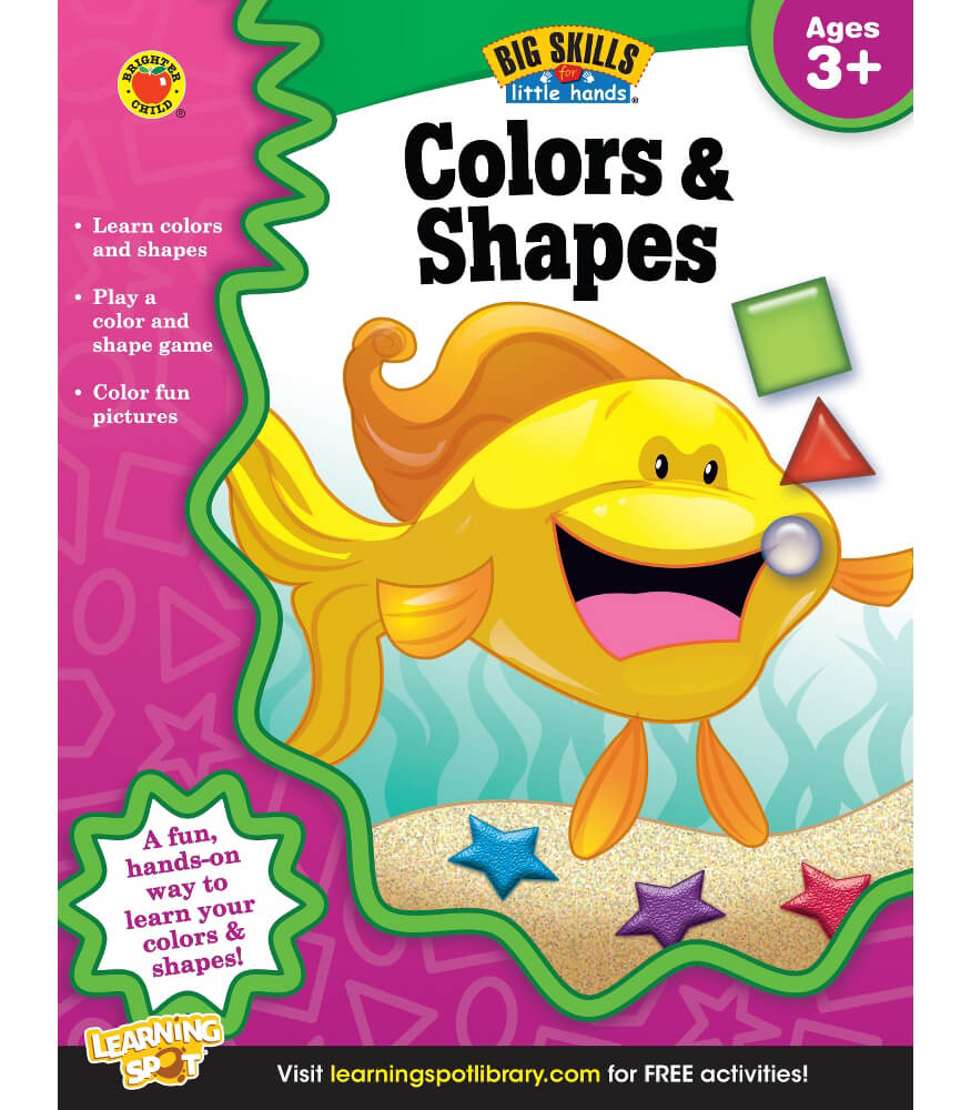 Colors & Shapes Workbook Product Image