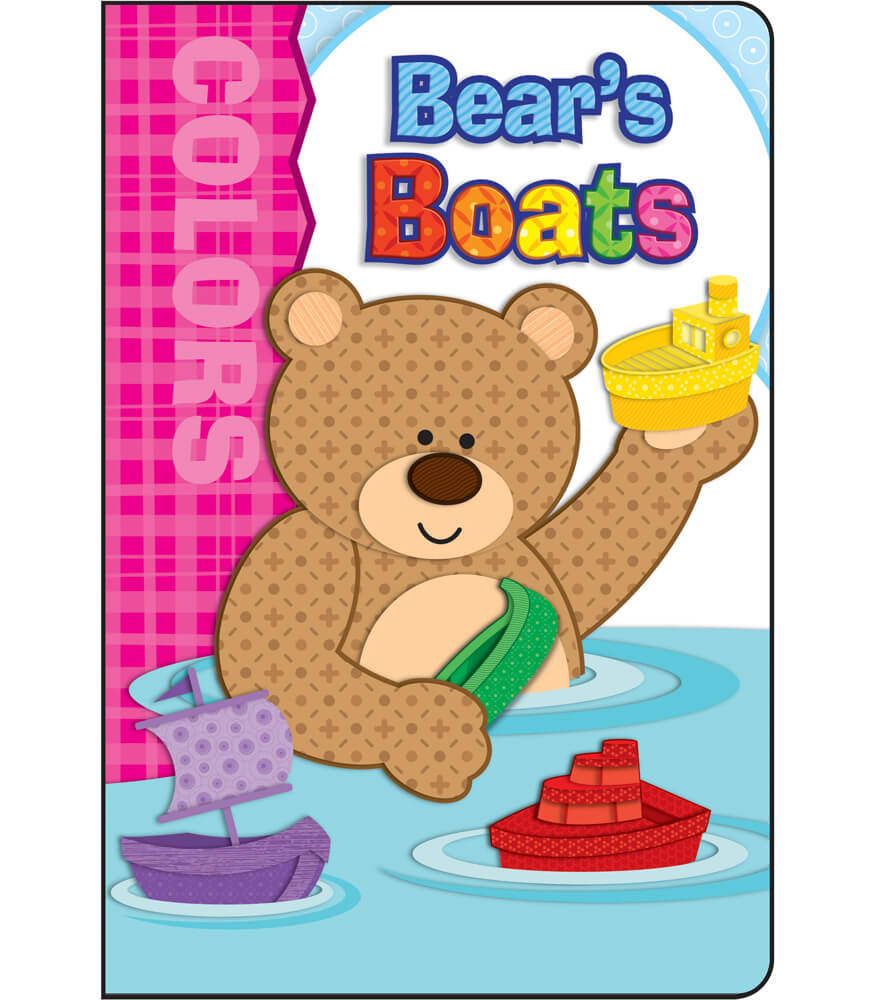 Bear's Boats Board Book Product Image