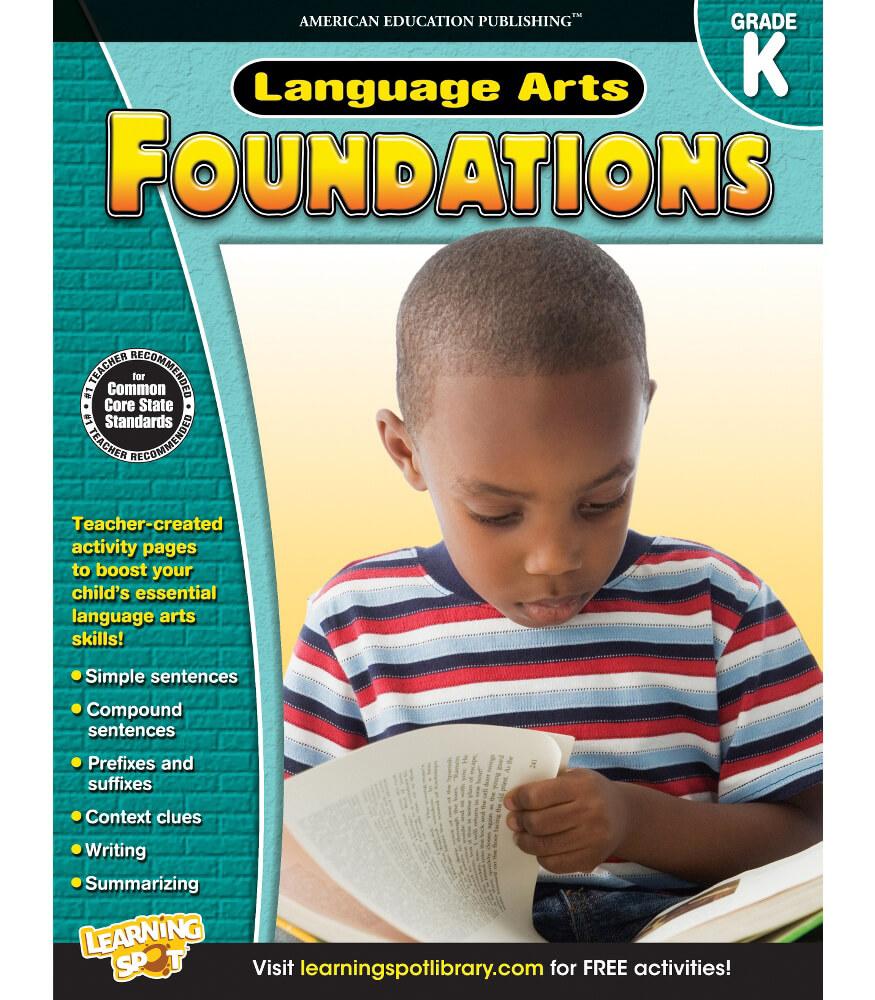 Language Arts Foundations Workbook Product Image