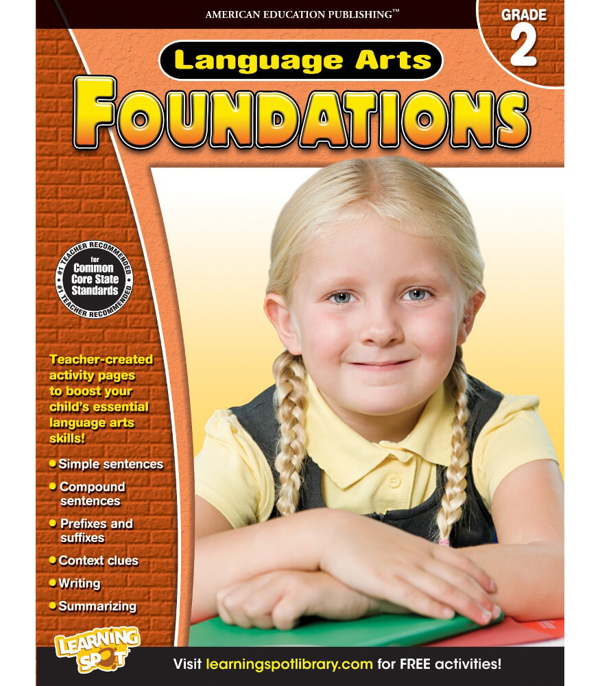 Language Arts Foundations Workbook Product Image