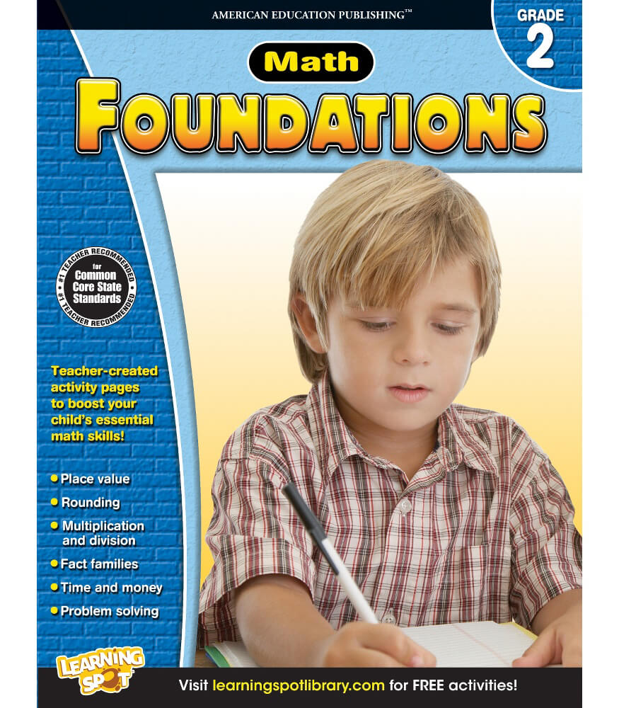 Math Foundations Workbook Product Image