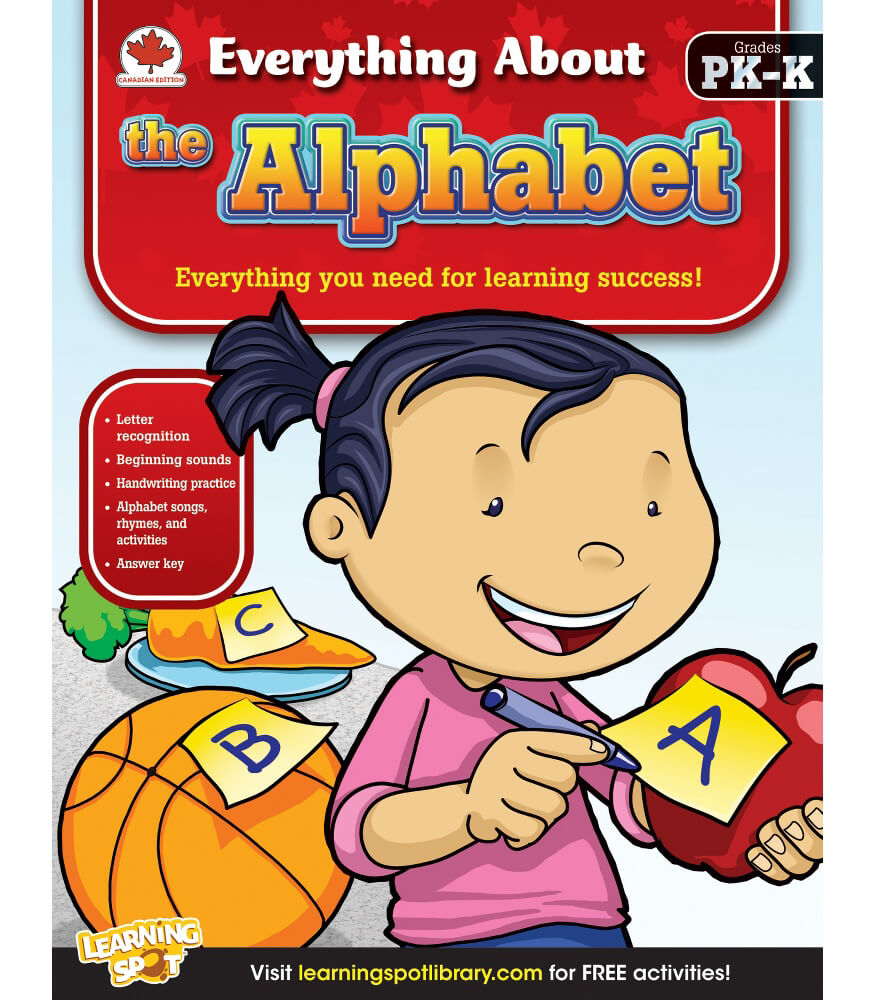 The Alphabet Workbook Product Image