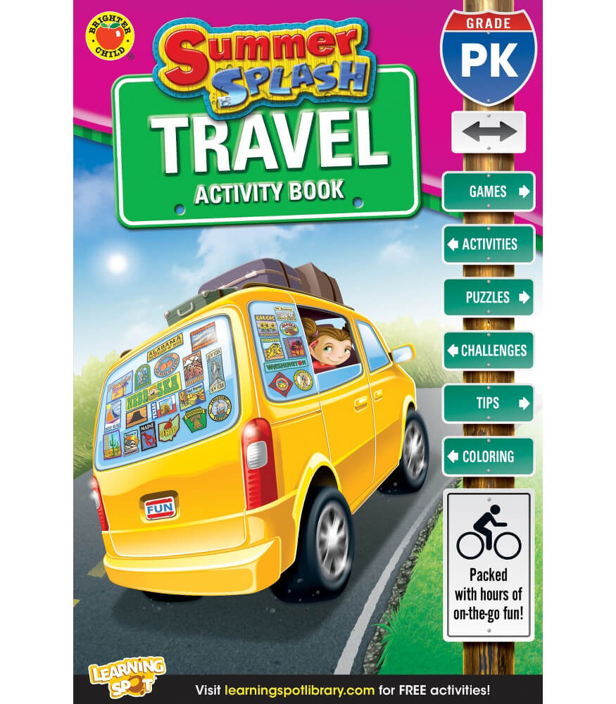 Summer Splash Travel Activity Book
