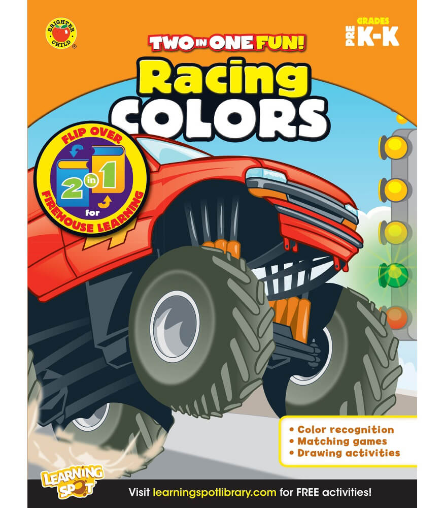 Racing Colors & Firehouse Learning Activity Book Product Image