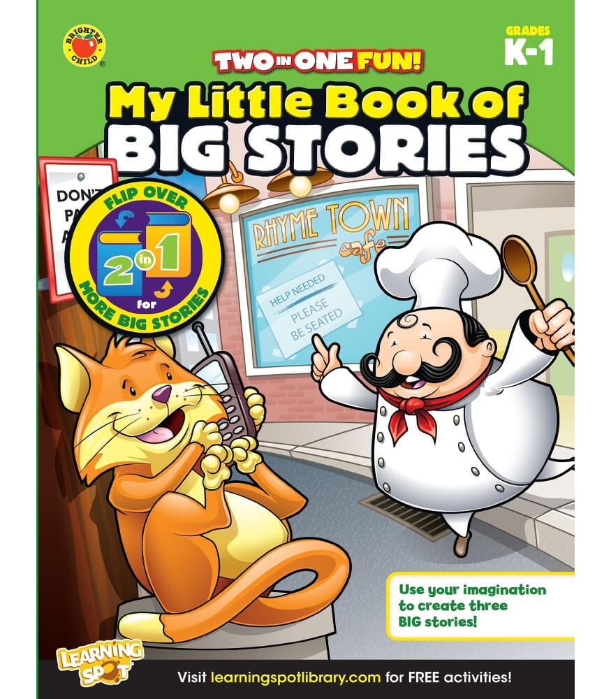 My Little Book of Big Stories Activity Book Product Image