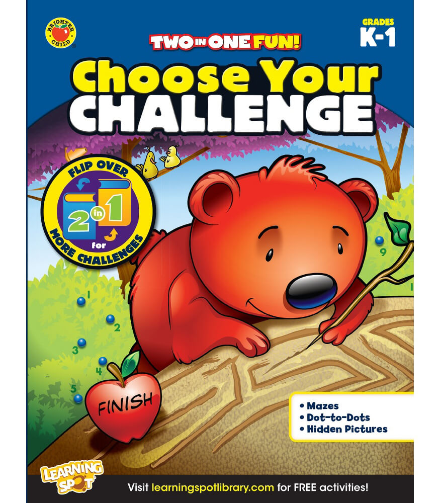 Choose Your Challenge Activity Book