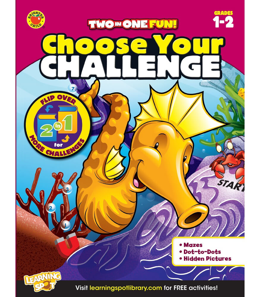Choose Your Challenge Activity Book Product Image