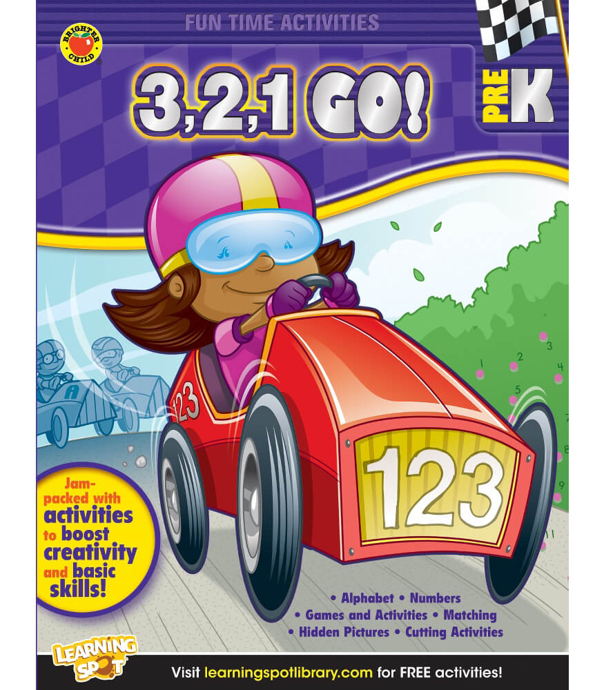 3, 2, 1, Go! Activity Book Product Image