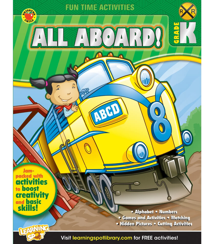 All Aboard! Activity Book Product Image