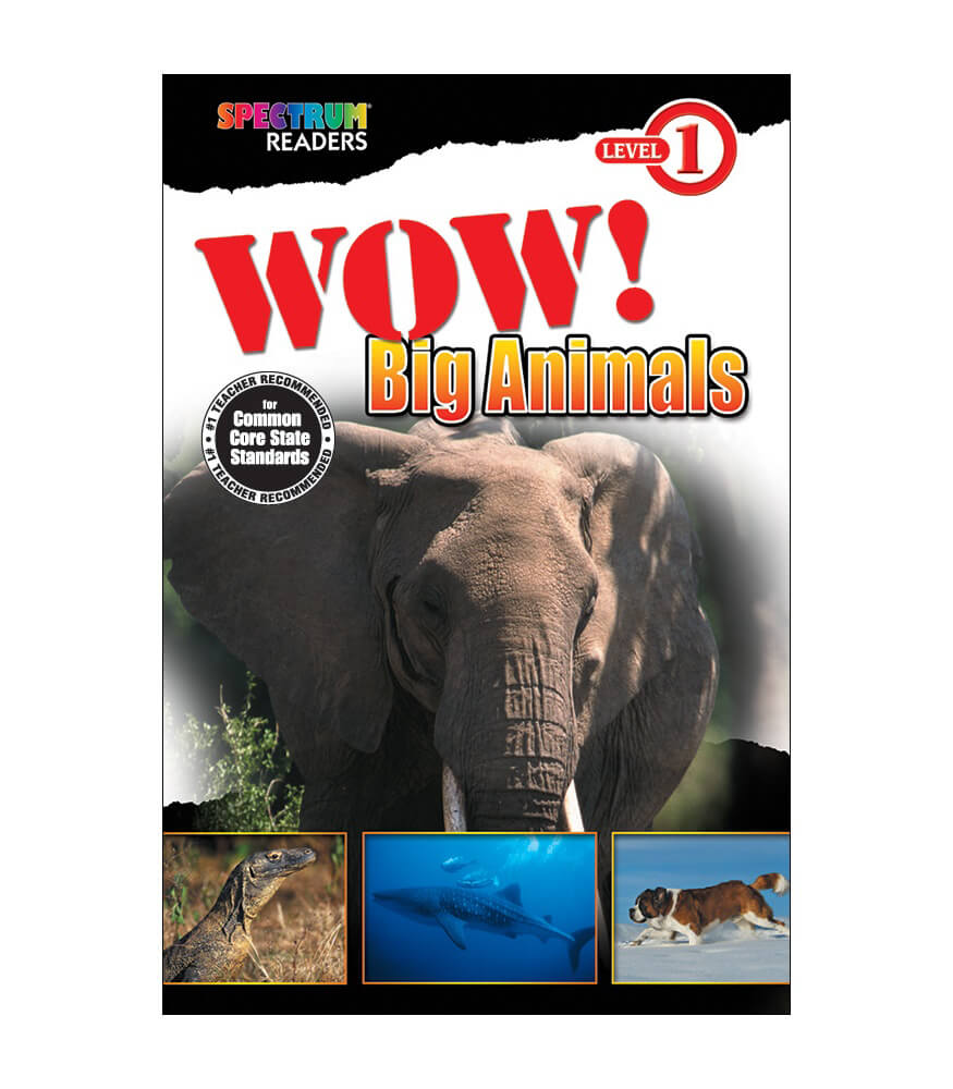 Wow! Big Animals Reader Product Image