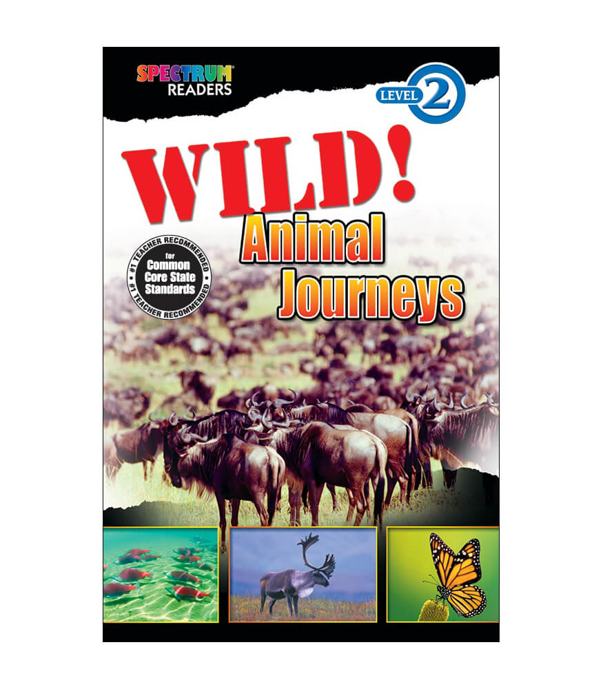 Wild! Animal Journeys Reader Product Image