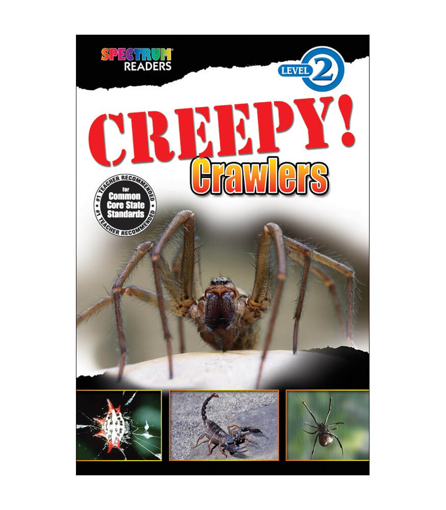 Creepy! Crawlers Reader Product Image