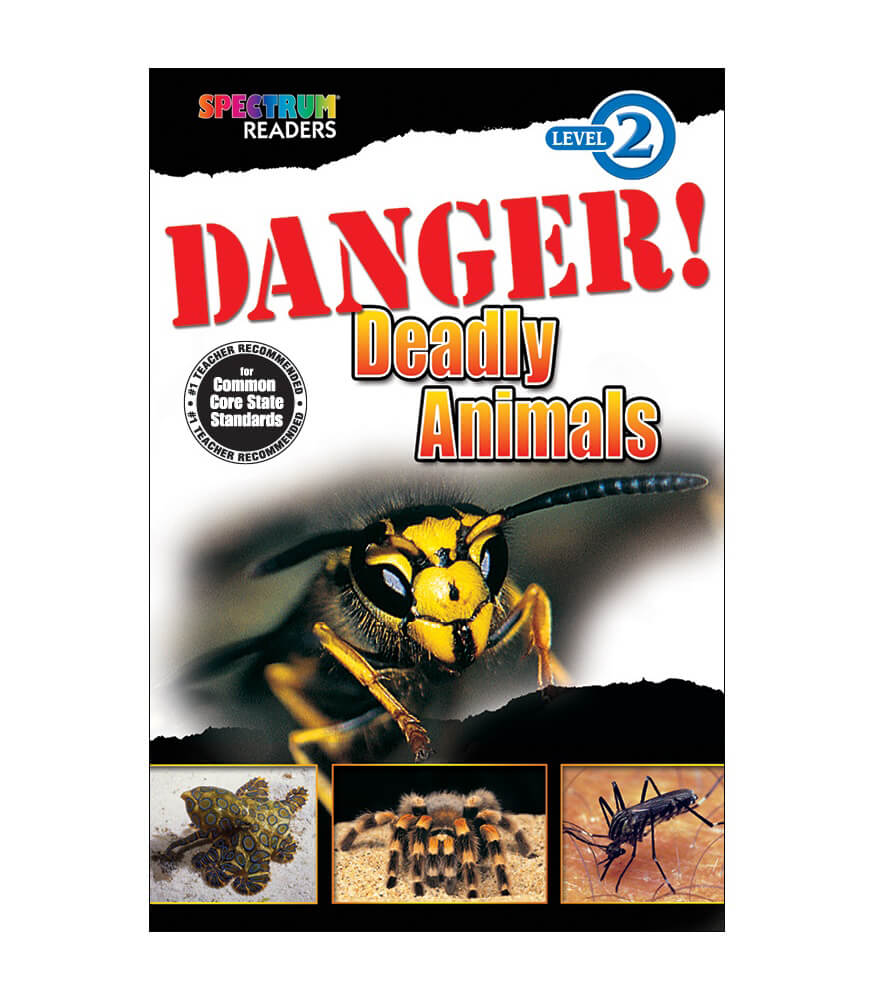 Danger! Deadly Animals Reader Product Image