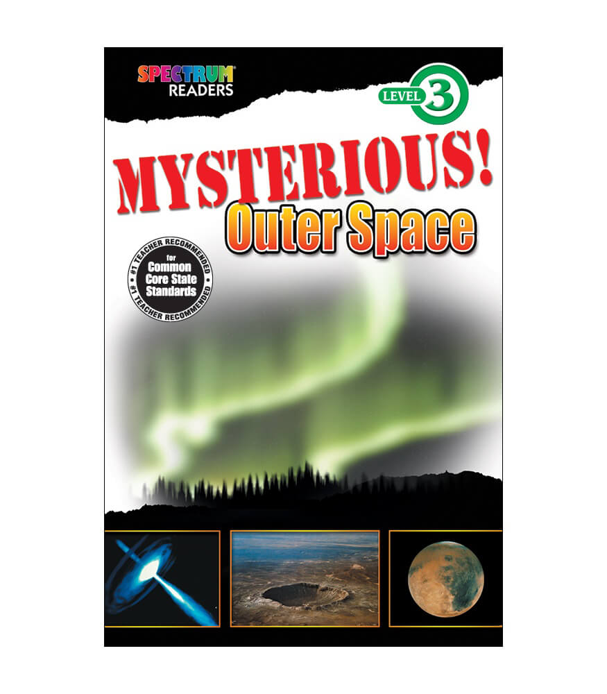 Mysterious! Outer Space Reader Product Image