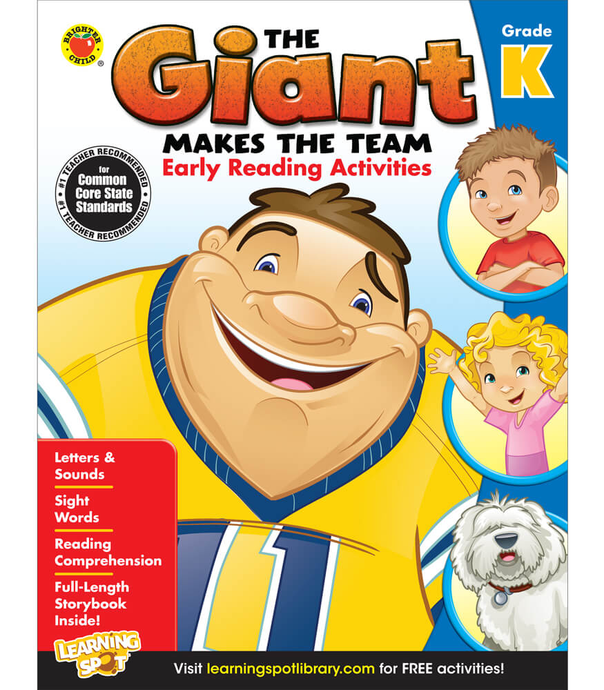 The Giant Makes the Team: Early Reading Activities Activity Book Product Image