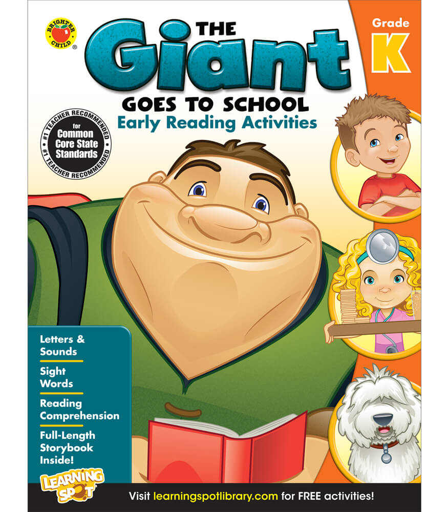The Giant Goes to School: Early Reading Activities Activity Book Product Image