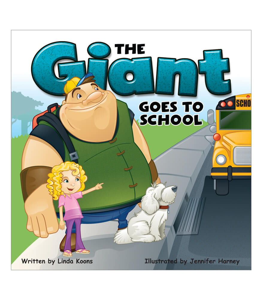 The Giant Goes to School Storybook Product Image