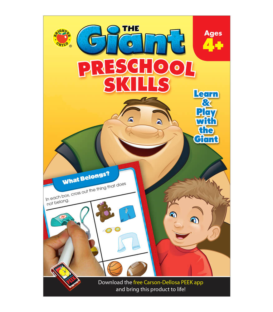 The Giant: Preschool Skills Activity Book Product Image