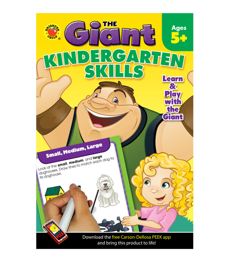 The Giant: Kindergarten Skills Activity Book Product Image