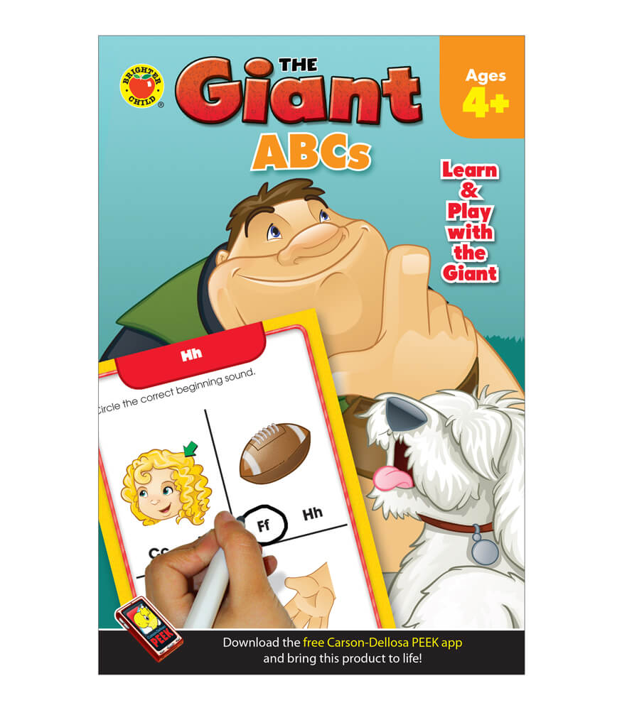 The Giant: ABCs Activity Book Product Image
