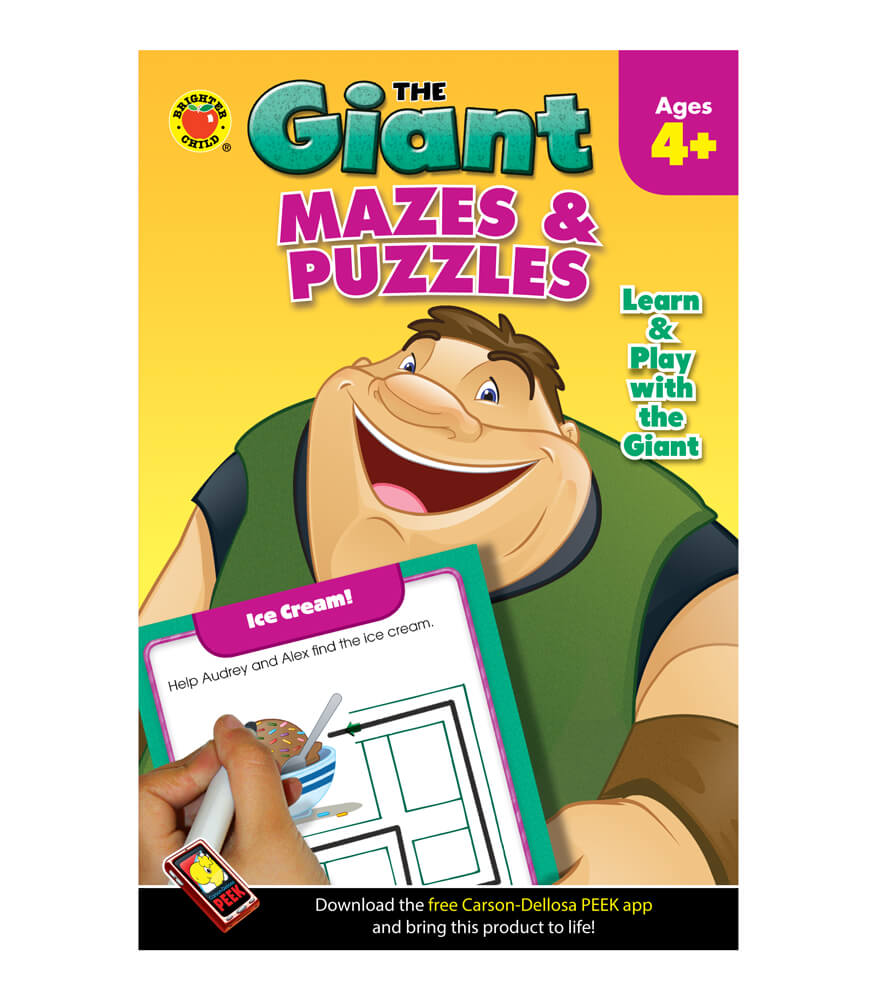 The Giant: Mazes & Puzzles Activity Book Product Image