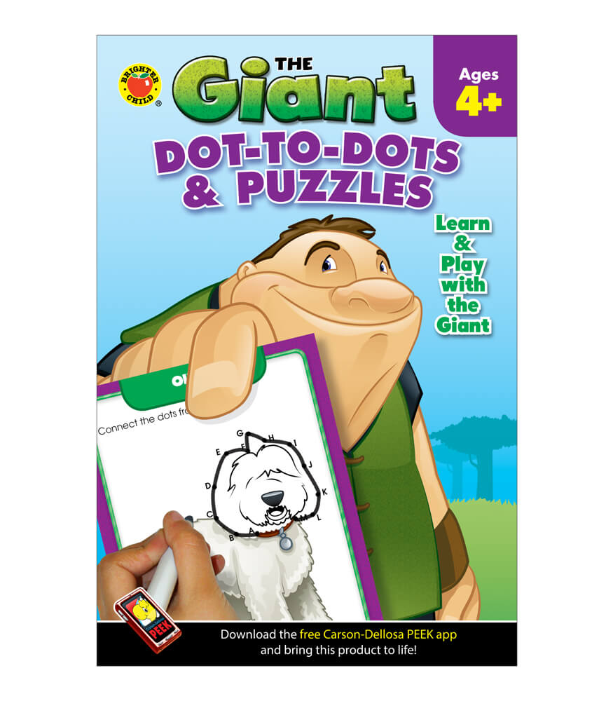 The Giant: Dot-to-Dots & Puzzles Activity Book Product Image