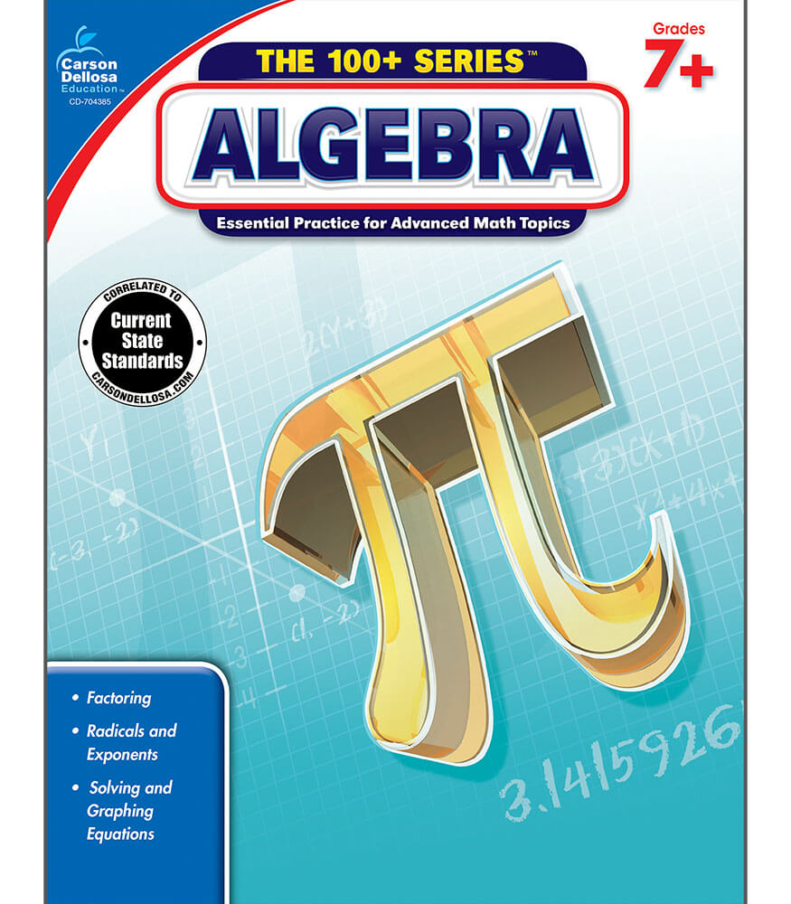 Algebra Workbook Grade 7-9