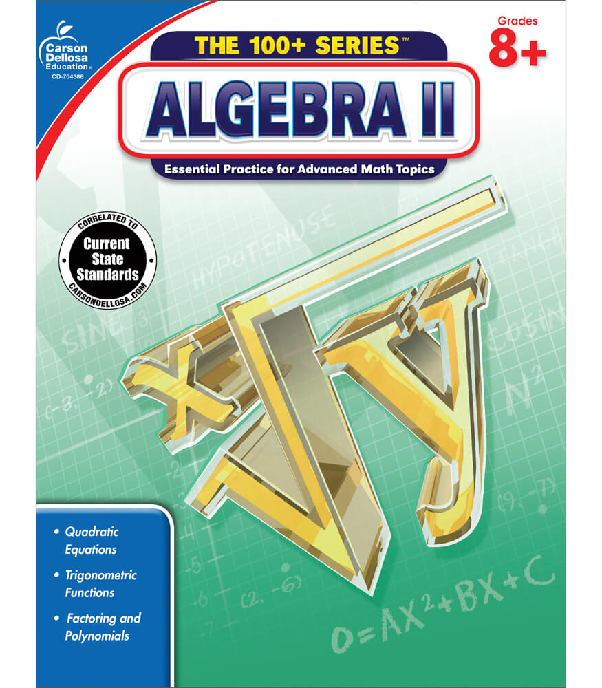 Algebra II Workbook Product Image