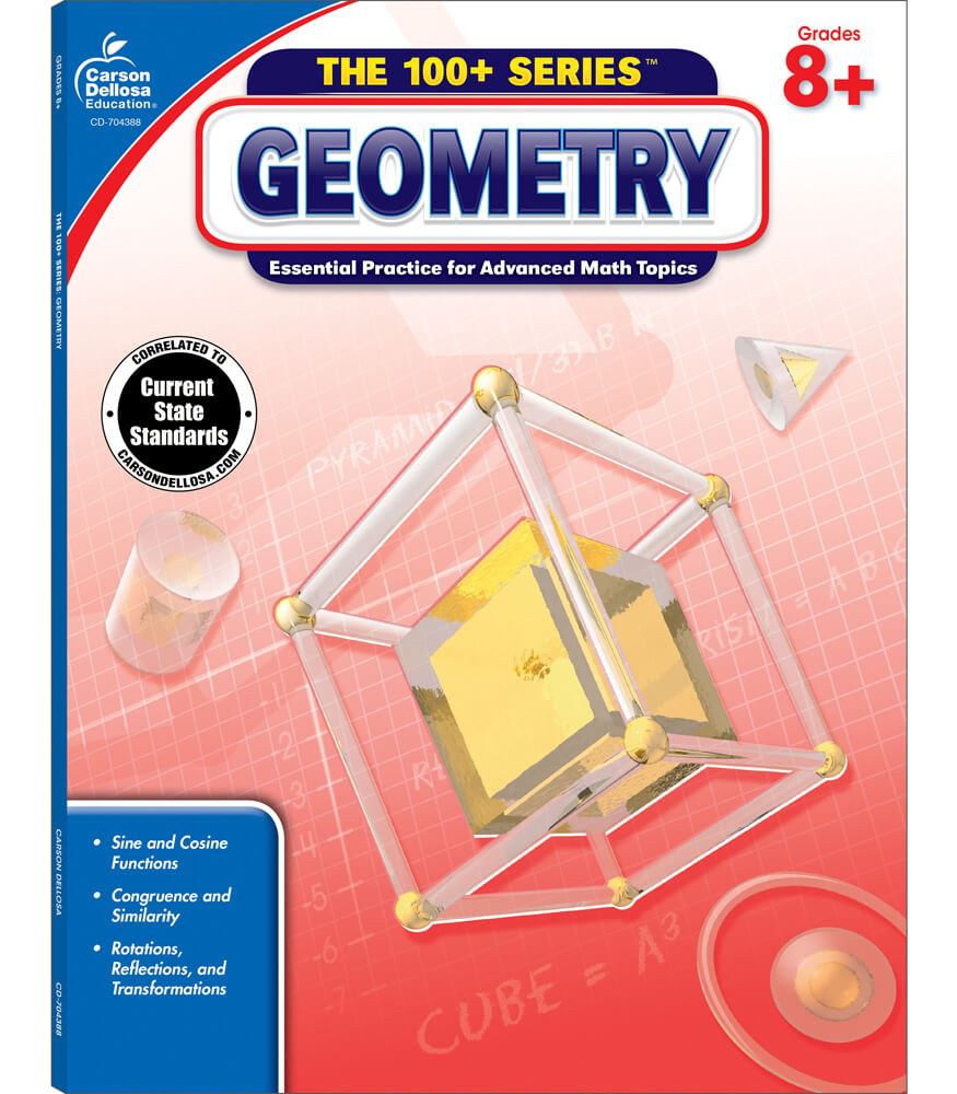 The 100+ Series™ Geometry  Workbook Product Image